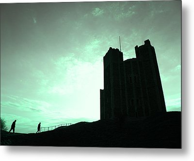 Metal Print featuring the photograph Orford Castle by David Harding