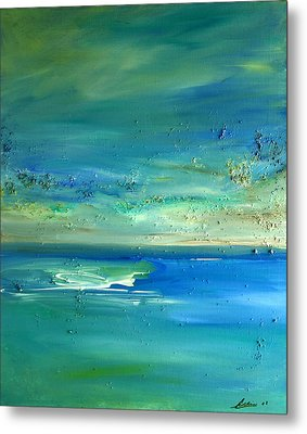 Organic Seascape Metal Print by Dolores  Deal