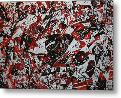Organized Chaos Metal Print by Tyler Schmeling