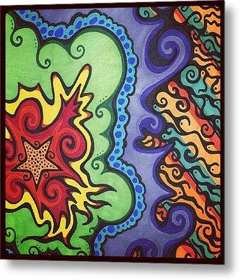 Original #sharpie Art ! From Metal Print