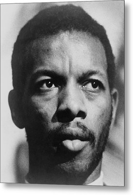 Ornette Coleman B. 1930 African Metal Print by Everett