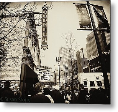 Orpheum Theatre Metal Print by Susan Stone