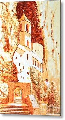 Ostrog Abbey. Montenegro. Metal Print by Sasa Djerkovic