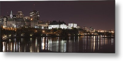 Metal Print featuring the photograph Ottawa Skyline by Eunice Gibb
