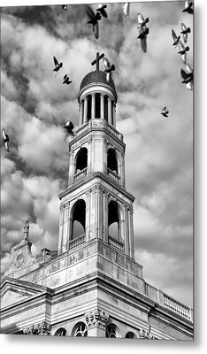 Our Lady Of Pompeii Church Metal Print by Michael Dorn