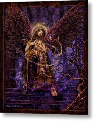 Metal Print featuring the painting Our Lady Of Redemption by Steve Roberts