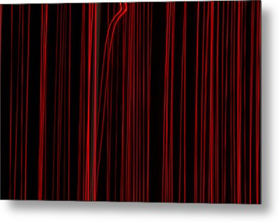 Out Of Line Metal Print by Dean Bennett