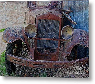 Metal Print featuring the photograph Out Of Service  by Irina Hays