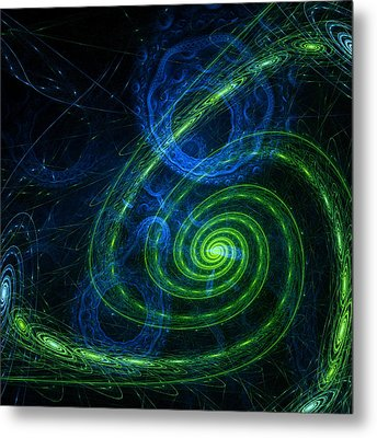 Outer Space Metal Print by Steve K