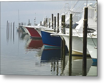 Outerbanks Morning Metal Print by Carrie Cranwill