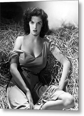 Outlaw, Jane Russell, 1943, Cleavage Metal Print by Everett