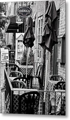 Metal Print featuring the photograph Outside Dining  by Randall  Cogle