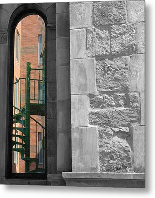 Outside Looking In Metal Print by Bruce Carpenter