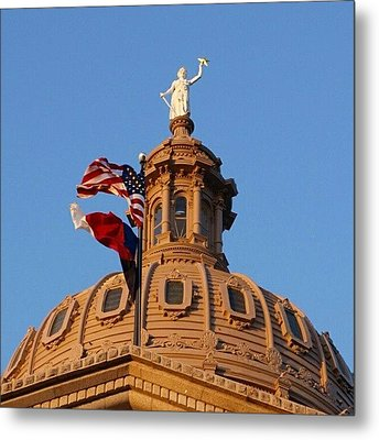 Outside The Dome Metal Print