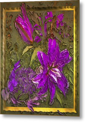 Outside The Frame Metal Print by Jill Balsam