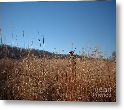 Metal Print featuring the photograph Outstanding In His Field by Mark McReynolds