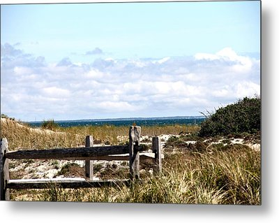 Over The Dunes Metal Print