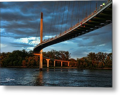 Over The Muddy Mo Metal Print
