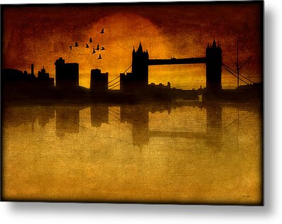 Over The Tower Bridge Metal Print by Tom York Images