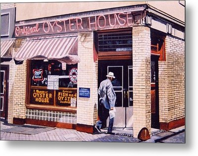 Oyster  House Metal Print by James Guentner