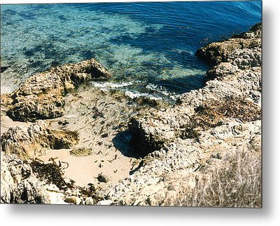 Metal Print featuring the photograph Pacific Ocean At Monterey One by Louis Nugent