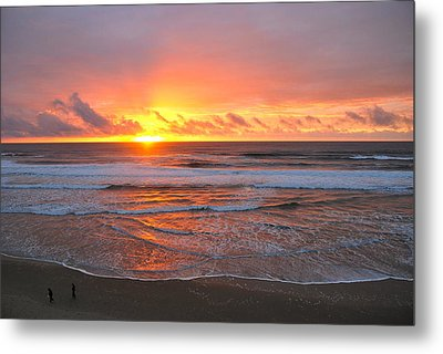 Pacific Sunset Metal Print by Eric Tressler