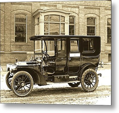 Packard Motor Car Company Automobile 1910 Metal Print by Padre Art