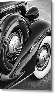 Metal Print featuring the photograph Packard One Twenty by Gordon Dean II