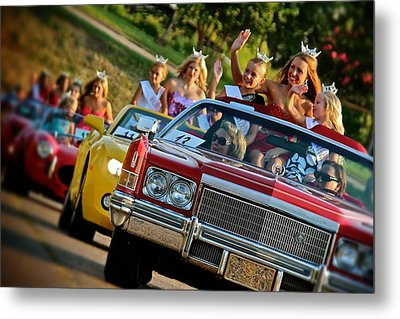 Pageant Parade Metal Print