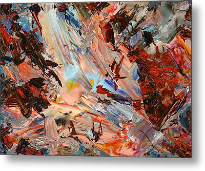 Paint Number 36 Metal Print by James W Johnson