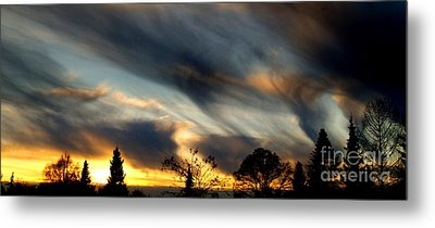 Painted Sky Over Denmark Metal Print by Michael Canning