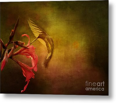 Painterly Ballet Metal Print by Anne Rodkin