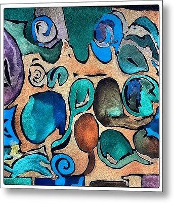 Circles Of Colors.... Metal Print