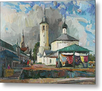 Paints Of Old Suzdal Metal Print