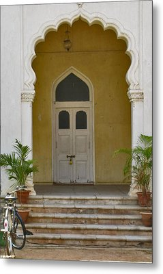 Metal Print featuring the photograph Palace Door by David Pantuso
