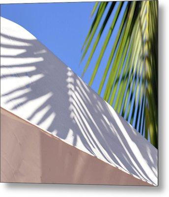 Palm Leaf Metal Print by SteffenTuck
