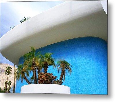 Palm Springs Modernism Metal Print by Randall Weidner