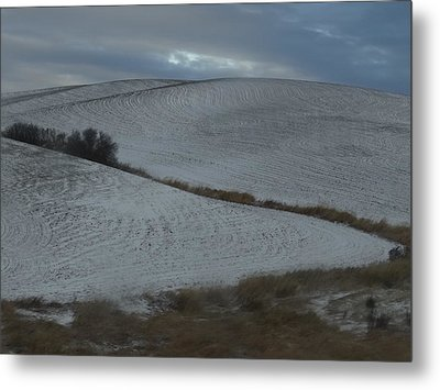 Palouse Winter 1 Metal Print by Mary McInnis