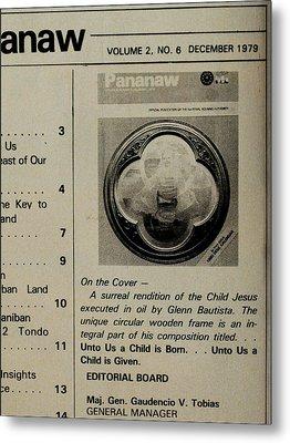 Pananaw 1979 Metal Print by Glenn Bautista