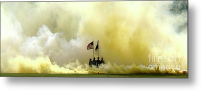 Panoramic Us Army Graduation Metal Print