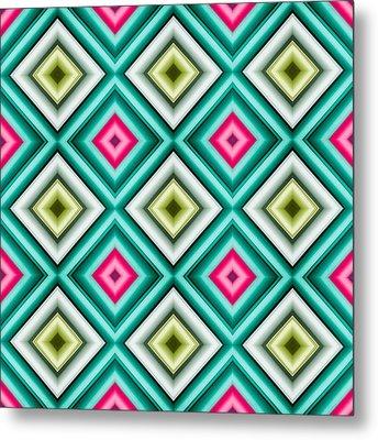 Paper Symmetry 2 Metal Print by Hakon Soreide