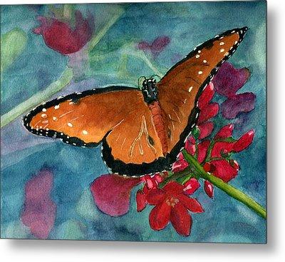 Papilio Fandango  Metal Print by Lynne Reichhart