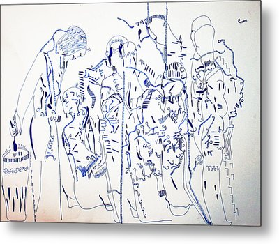 Parable Of The Ten Virgins Metal Print by Gloria Ssali