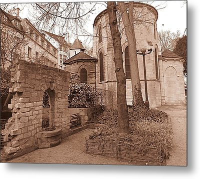 Paris Quaint  Metal Print