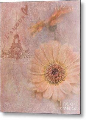 Parisian Oooo La La Metal Print by Betty LaRue