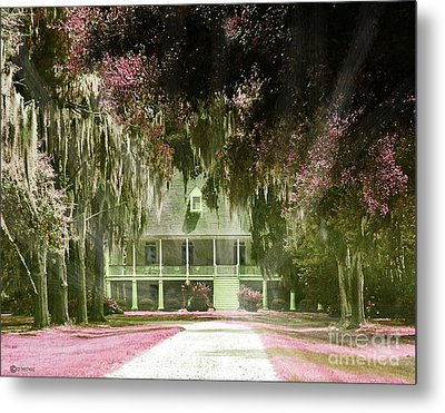 Parlange Plantation Circa 1750 New Roads La Metal Print