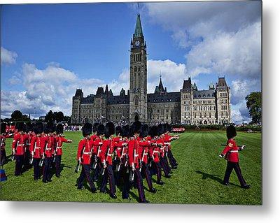 Parliament Building Ottawa Canada  Metal Print by Garry Gay