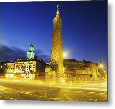 Parnell Square, Dublin, Ireland Parnell Metal Print by The Irish Image Collection