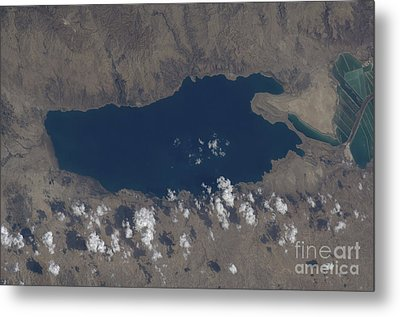 Part Of The Dead Sea And Parts Metal Print by Stocktrek Images