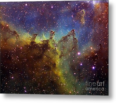 Part Of The Ic1805 Heart Nebula Metal Print by Filipe Alves